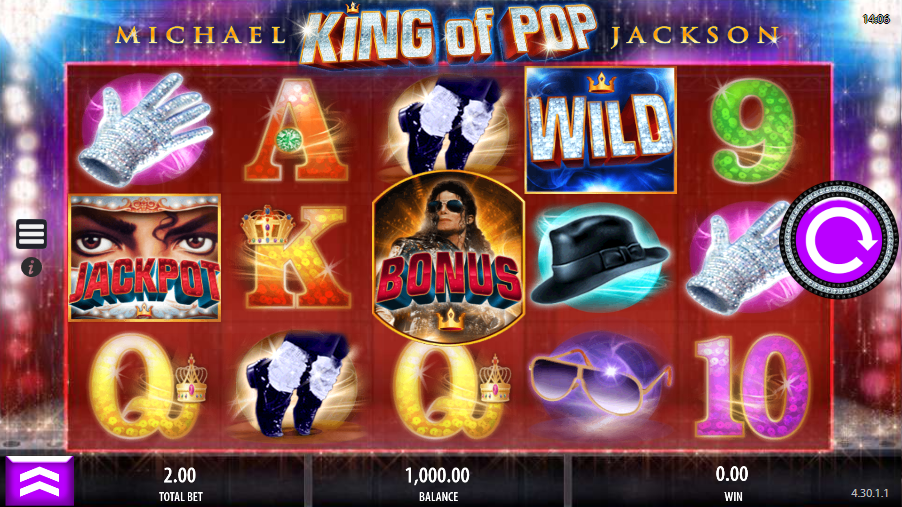 King of Pop gokkast