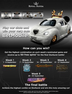 Royal Panda Bet Mobile